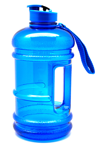 Workout Jug custom shaker bottle